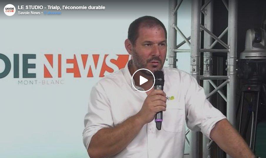 Le Studio : Economie durable et valorisation des déchets avec la société Trialp